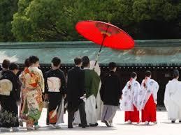 traditional japanese shinto wedding tokyo japan travel