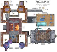 English Manor House Plans Do You Want To See Croft Manor Lara U0027s Mansion Back In Tr10 Or