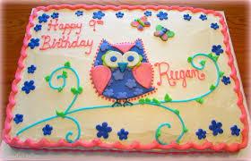 owl birthday cakes s and sam s sweet birthday cake photo gallery
