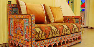 Moroccan Chair Moroccan Wood Sofas And Loveseats