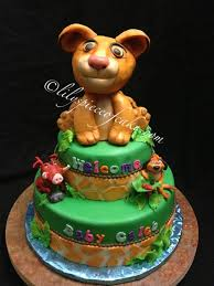 lion king baby shower theme two tier lion king baby shower theme cake yelp