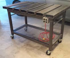 Strong Hand Welding Table Welding Table Design Table Design And Table Ideas