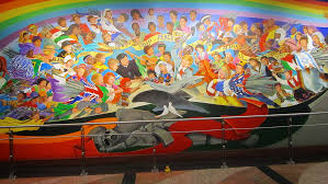 Denver International Airport Murals Removed by The Judeo Masonic Denver International Airport
