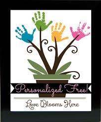 personalized kids handprint frame