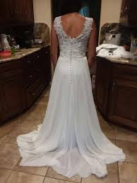 wedding dresses discount buy cheap and discount 2018 a line illusion sweep sleeveless