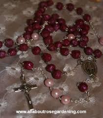 petal rosary make rosary from petals hometalk