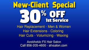 men hair south jersey best marlton south jersey hair salon announces new client special