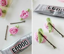 flower hair pins how to make simple flower hair pins tonya staab