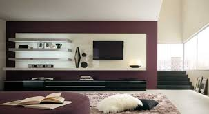 Wall Units For Living Room Chic Living Area With Elegant Metallic Wall Shelves Also Living