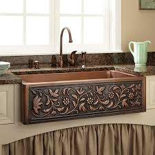 Drop In Kitchen Sinks Drop In Copper Kitchen Sinks Of Keep Your Sparkling Copper Kitchen