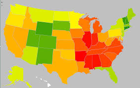 Rocky Mountain States Map Heat Map Where Truckload Rates Are Hottest