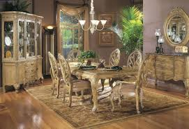 Michael Amini Office Furniture by The Sovereign Round Dining Table By Aico Aico Dining Room