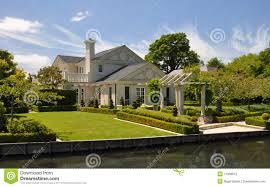 mona vale beautiful house u0026 garden christchurch stock photos
