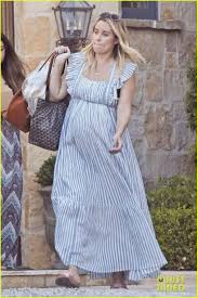 lauren conrad shows off growing bump at her baby shower photo