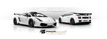 Lamborghini Gallardo White - prior design stun with a lamborghini gallardo
