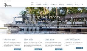 marine website design agency marine website design