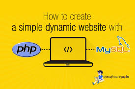 tutorial php web how to create a simple dynamic website with php and mysql