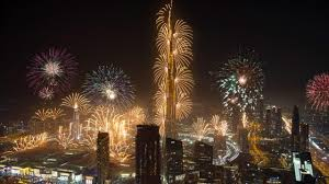 new years dubai new year s fireworks 2017 4k