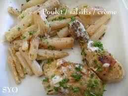 cuisiner les salsifis poulet aux salsifis à la charentaise de mamigoz chez mamigoz