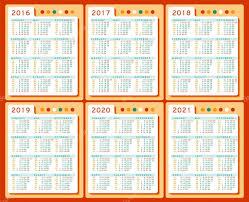 Kalendář 2018 Svátky Kalendář 2016 2017 2018 2019 2020 2021 Vektor Sadu V Angličtině