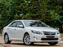 yellow toyota camry toyota camry hybrid official review team bhp