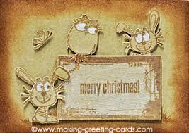 faux vintage christmas tag