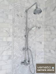 Bathroom Tile Ideas Pinterest Carrara Venato Bathroom U2013 Customer Pictures Carrara Subway