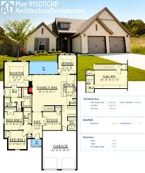 floor plans 2500 square feet plan 915011chp traditional house plan with second floor flex room