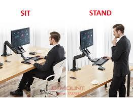 bureau pour travailler debout nb fc35 190 cm ordinateur assis debout travail station support de