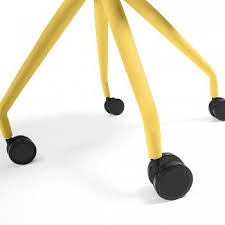 chaise bureau jaune chaises de bureau kave home