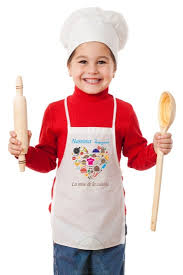 tablier de cuisine personnalisé tablier de cuisine pour enfants personnalisable à votre choix
