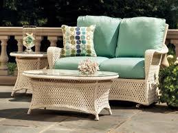 All Weather Wicker Loveseat Patios Round Wicker Chair Portofino Patio Furniture Outdoor