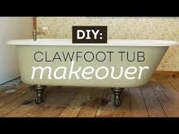 How Can I Paint My Bathtub A Vintage Clawfoot Tub Makeover With Maison Blanche Paints Youtube