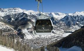 Colorado Ski Areas Map by Telluride Ski Resort