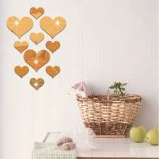 aliexpress com buy 10pcs set fashion home decor sweet love heart