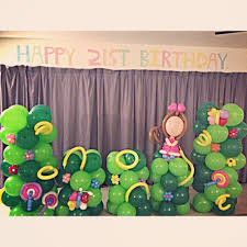 Wall Decoration With Balloons by Singapore Top Balloon Decorations Balloon Wall Balloon