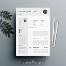 Creative Resume Samples by 4page Resume Template Cv Template Pack Cover Letter For Word