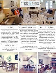 home staging u0026 design price list