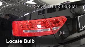 audi brake light brake light change 2008 2016 audi a5 quattro 2010 audi a5