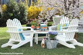 Adirondack Patio Furniture Sets Adirondack Chairs And Table Set Sports Team Poly Patio Furniture