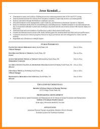 Certified Hand Therapist Resume Sample by 8 Sample Resume Physical Therapist Azzurra Castle Grenada