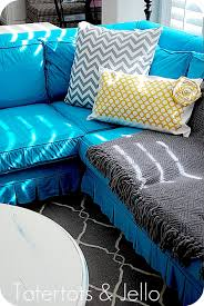How To Make Slipcovers For Couches 20 Diy Slipcovers