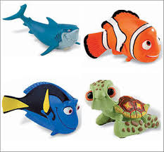 nemo cake toppers official bullyland disney finding nemo dory figures figure