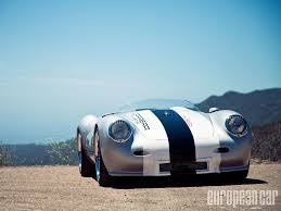 porsche 356 wallpaper carrera coachwerks 550 spyder replica european car magazine
