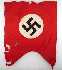 Germany Flag Ww2 Ww2 German Nsdap Party Parade Flag