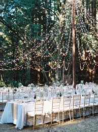 Backyard Wedding Decorations Budget by Simple Outdoor Wedding Decoration Ideas