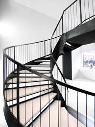 helical staircase u2014 custom metal fabrication in brooklyn nyc