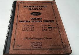 1943 ford blitz ww2 military truck factory workshop manual rare