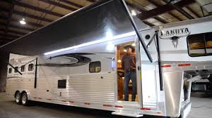 Awnings For Trailers How To Use The Power Awnings By Lakota Trailers Youtube