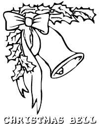 kids free coloring pages for christmas bells christmas coloring